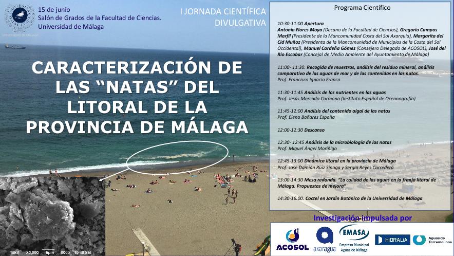 """Caracterización de las """" Natas"""" del litoral de la provincia de Málaga"""