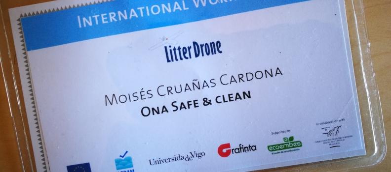 Litter Drone